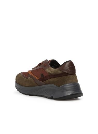 Divarese 5024953 Erkek Süet Sneaker Kahve
